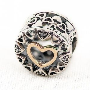 Pandora Loving Circle Heart Charm